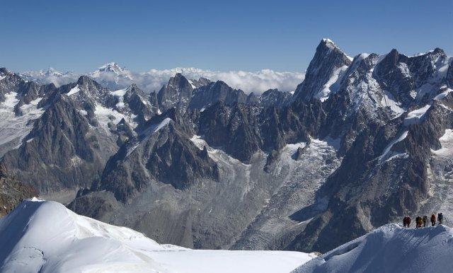 Actividad en alta montaña
