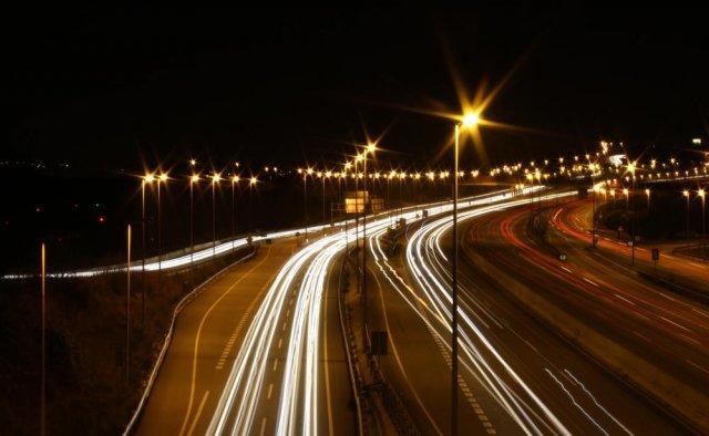 Autopista de luces