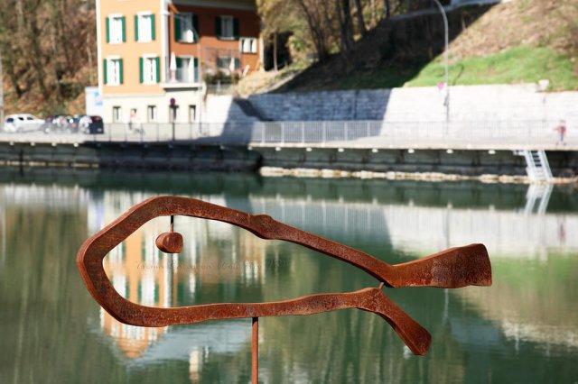 De pesca por el Aare en Berna