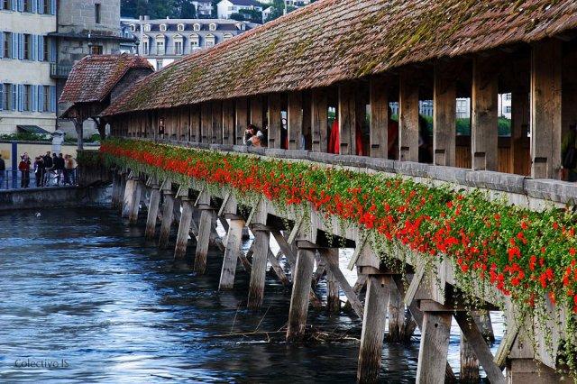 El puente de la capilla, Lucerna