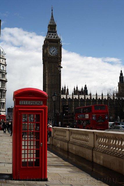 Londres, tres iconos
