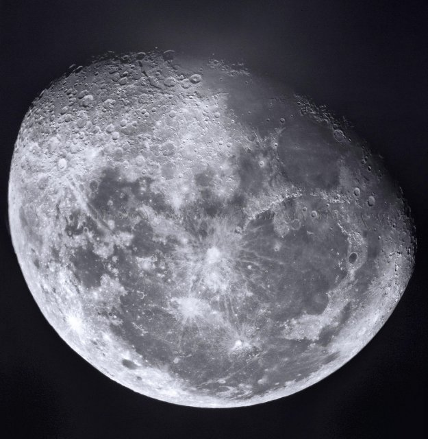 Luna al natural