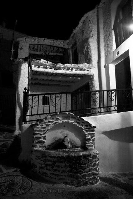 Nocturna en blanco y negro