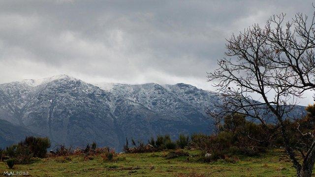 Nubarrones sobre el Valle de Ambroz.