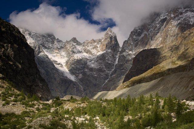 Parque Nacional  des Ecrins, Glaciar negro
