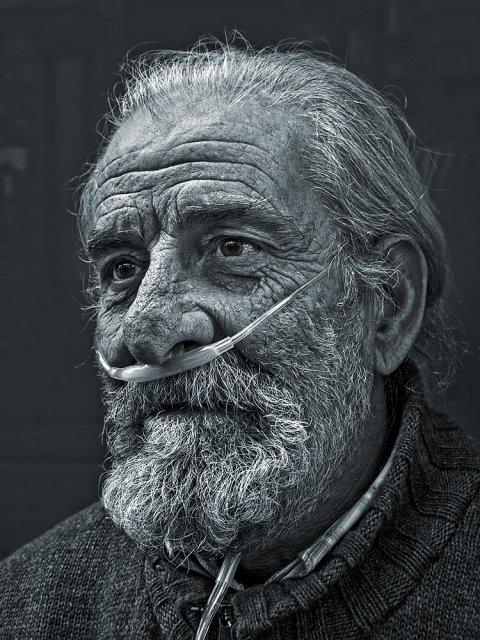 Retrato de Ángel Hidalgo
