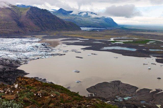 Skaftafellsjokull, Parque Nacional Skaftafell, Islandia