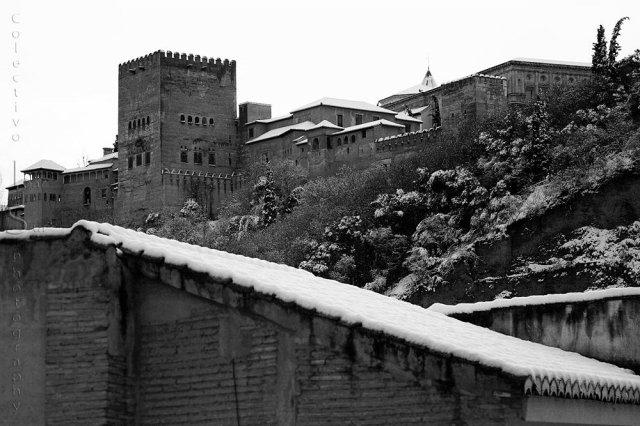 Sobre los tejados del Albaicín