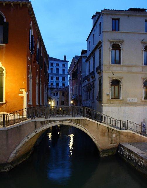 Típico rincón de Venecia