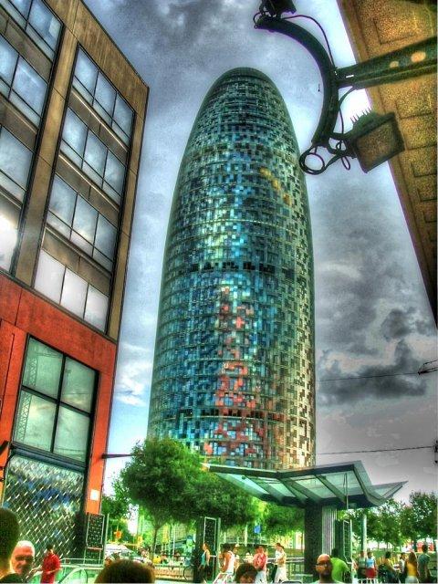 """Torre """"AGBAR"""" Barcelona"""