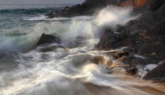 Un golpe de mar