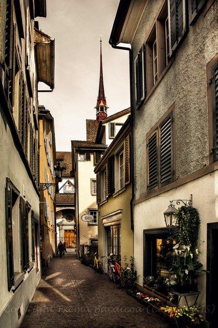 Un rinconcito de Zurich