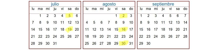 Calendario Islandia LimesViajes 2014