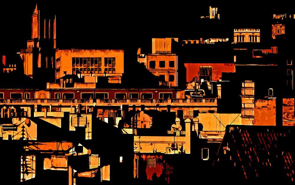 Abstracción urbana (Salvador Solé Soriano)