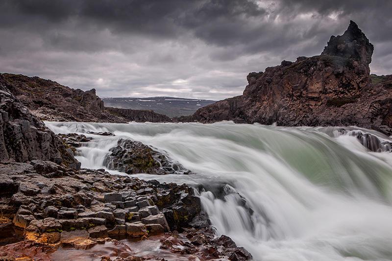 Agua-basalto. Islandia 144 (david Pérez Hens)