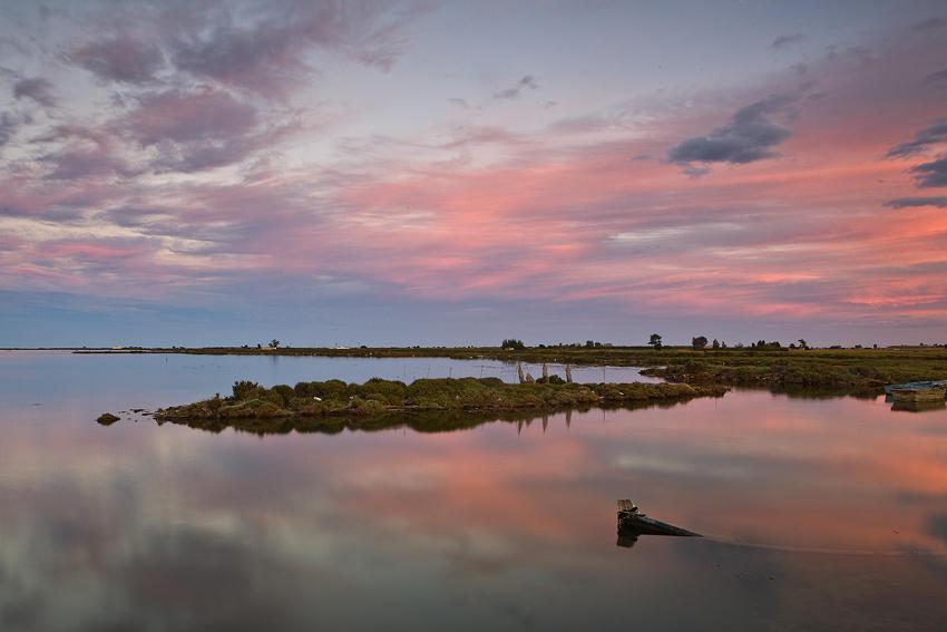 Atardecer en el Delta del Ebro (david Pérez Hens)