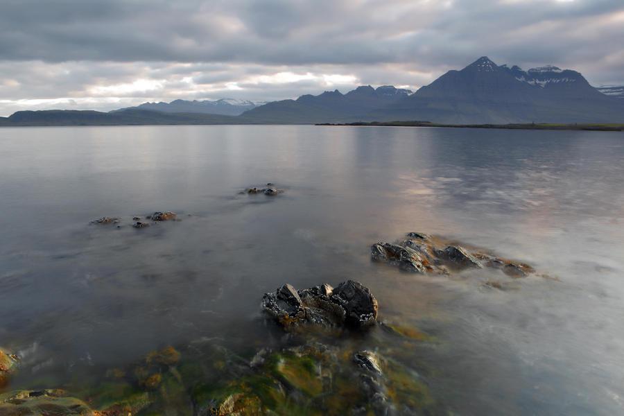 Atardecer en el fiordo. Islandia 200 (david Pérez Hens)