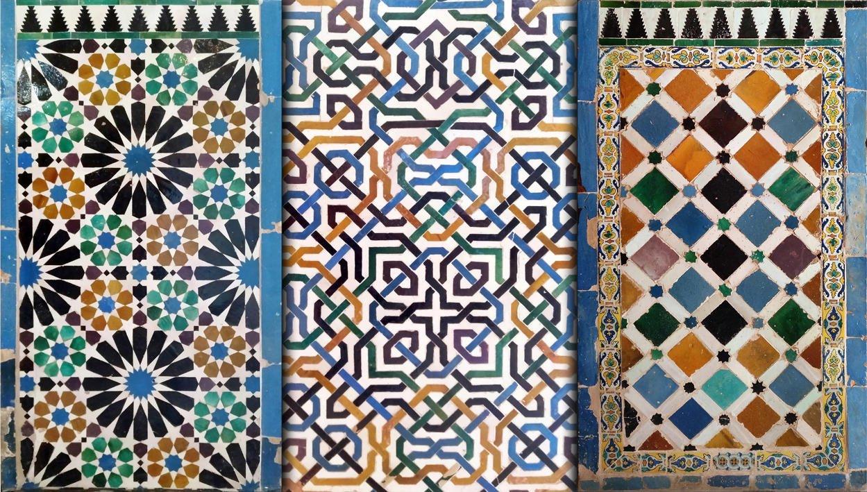 Azulejos en la Alhambra (Luis Garcia Nieto)