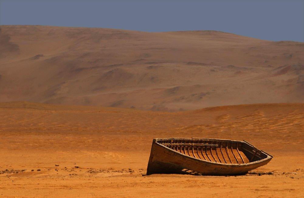 Barca en seco (Salvador Solé Soriano)