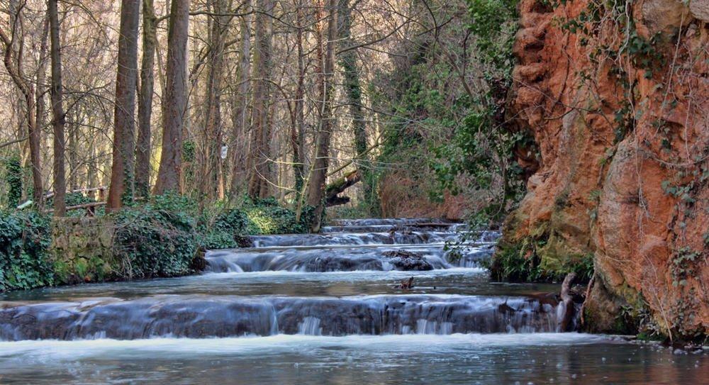 Cascada en en el Montasterio de Piedra (Argiñe Alonso Careaga)