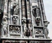 CATEDRAL DE MILAN,  detalle fachada...