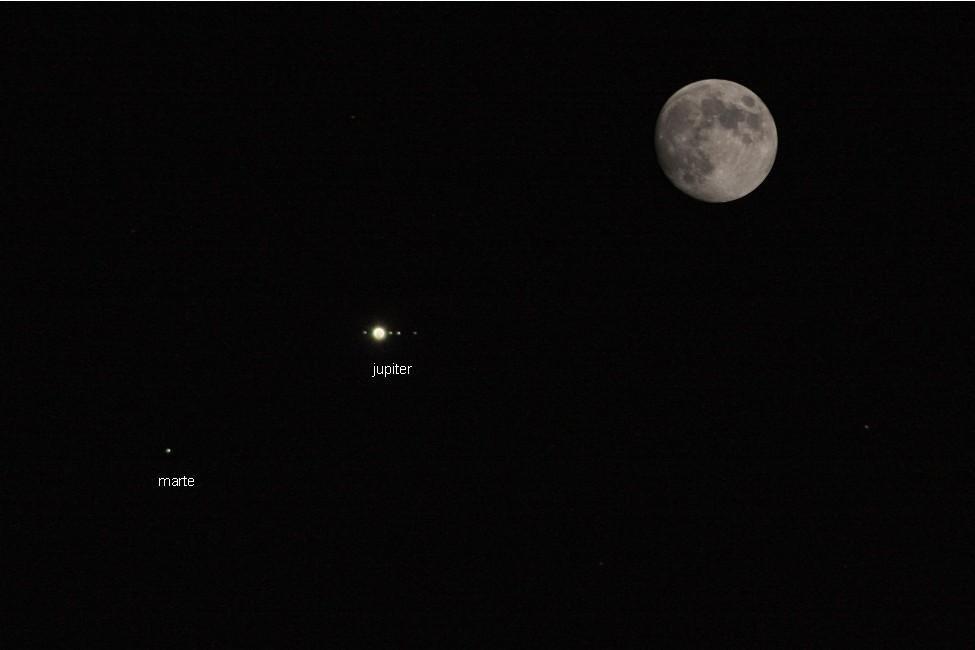 conjuncion planetaria. (Antonio Cuenca.   vaya)