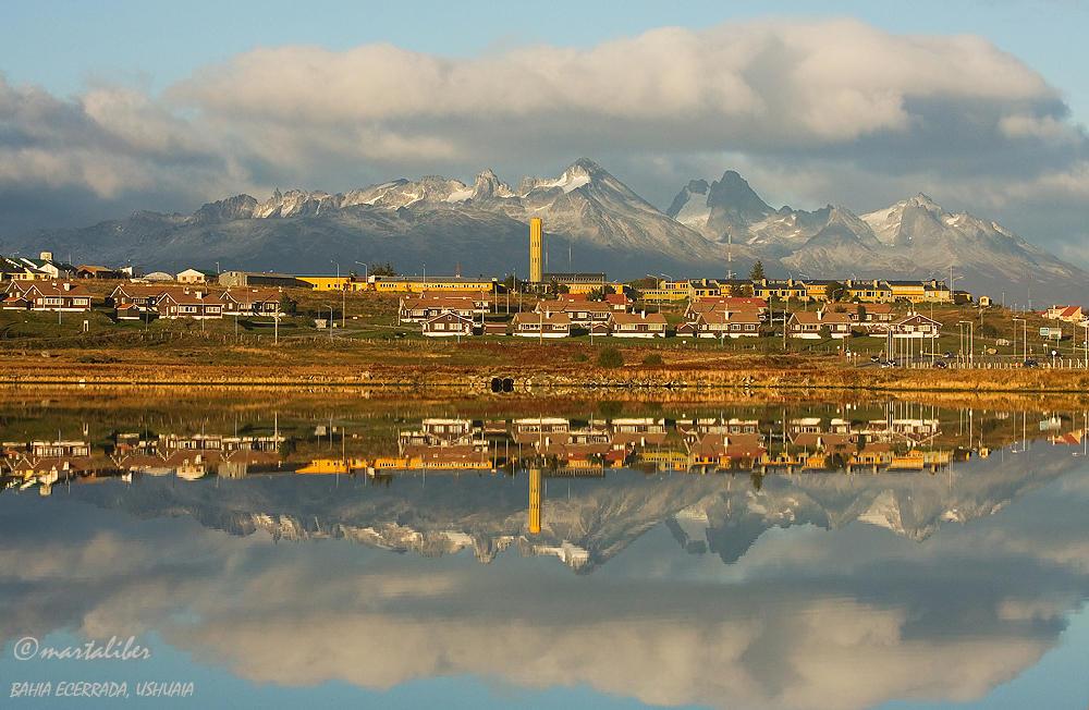 Despues del amanecer en Ushuaia (marta Liber)