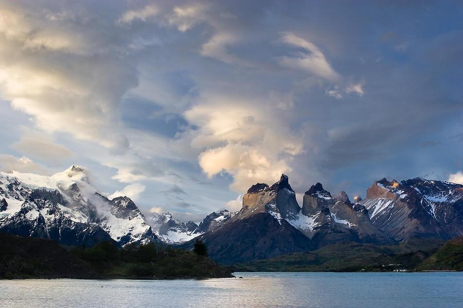Cuernos del Paine al atardecer. (david Pérez Hens)