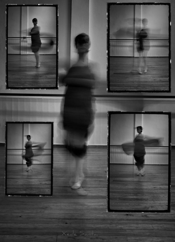 Danza abstracta. (chedey santana)