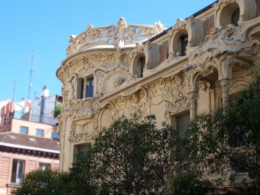 Edificio SGAE en Madrid (Tanya Ivanova)