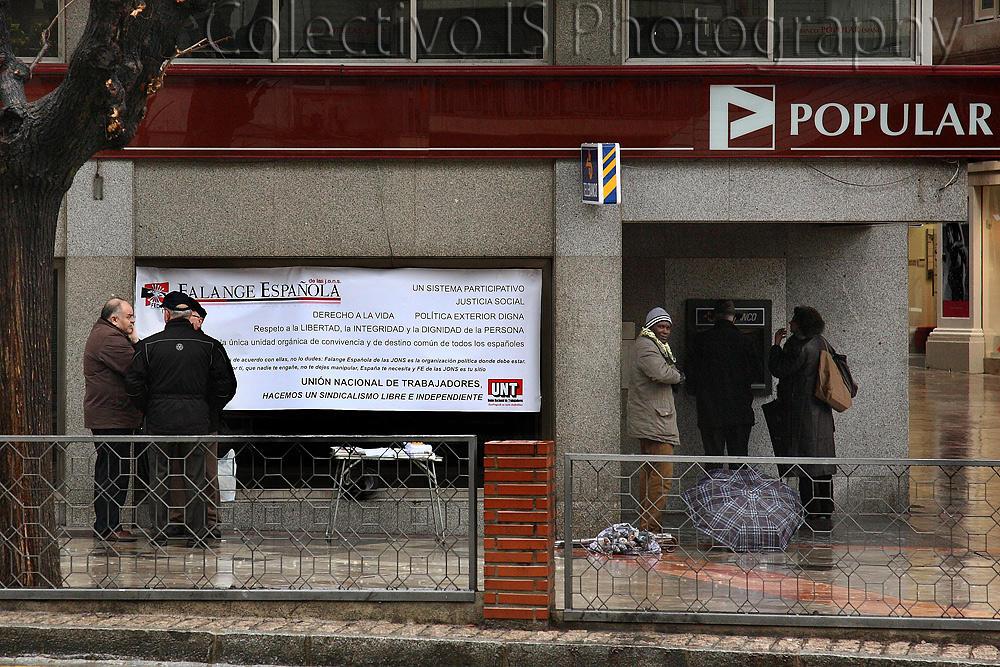 El año de la desesperanza: Los sindicalistas (Txema Bacaicoa (Colectivo IS))
