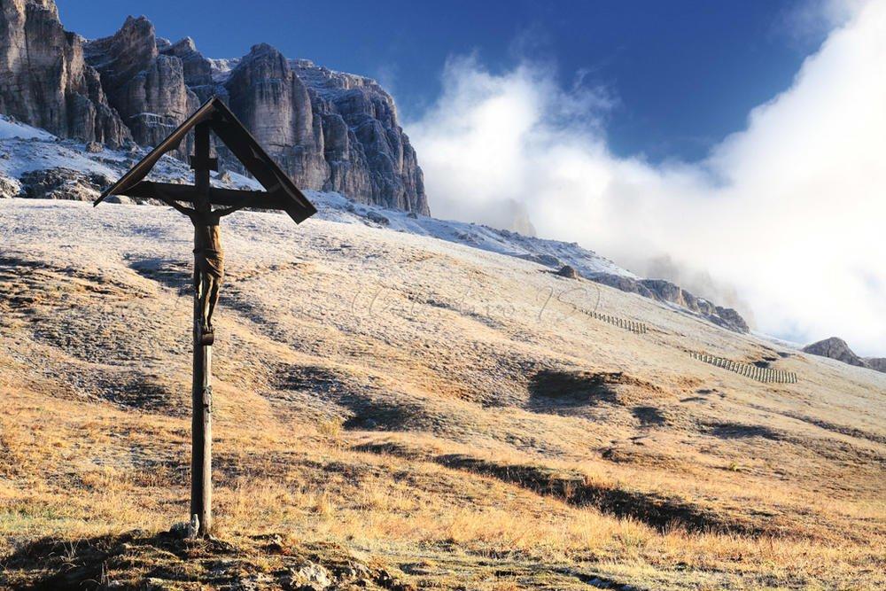 El Cristo del Pordoi (Txema Bacaicoa (Colectivo IS))