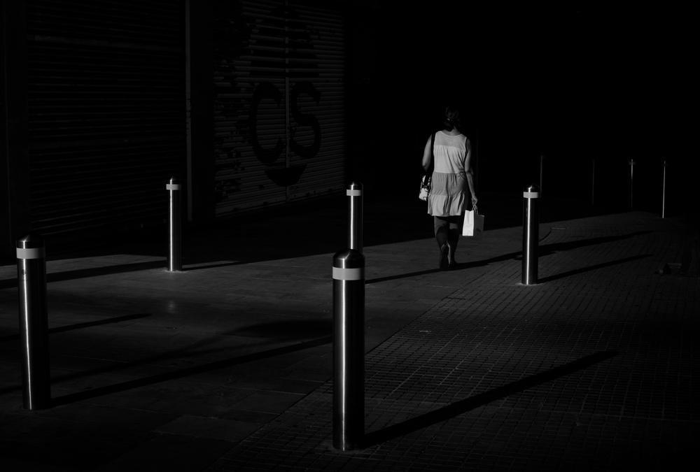 Entrando en la oscuridad (Abrahan Manuel Francisco)