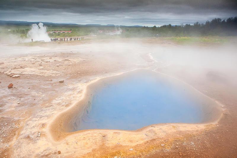 Geyser, Islandia 98 (david Pérez Hens)