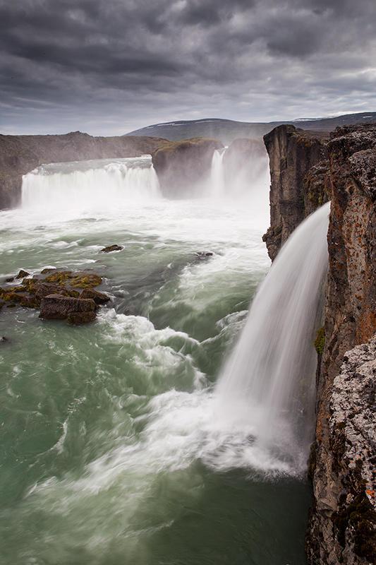 Godafoss. Islandia 89 (david Pérez Hens)