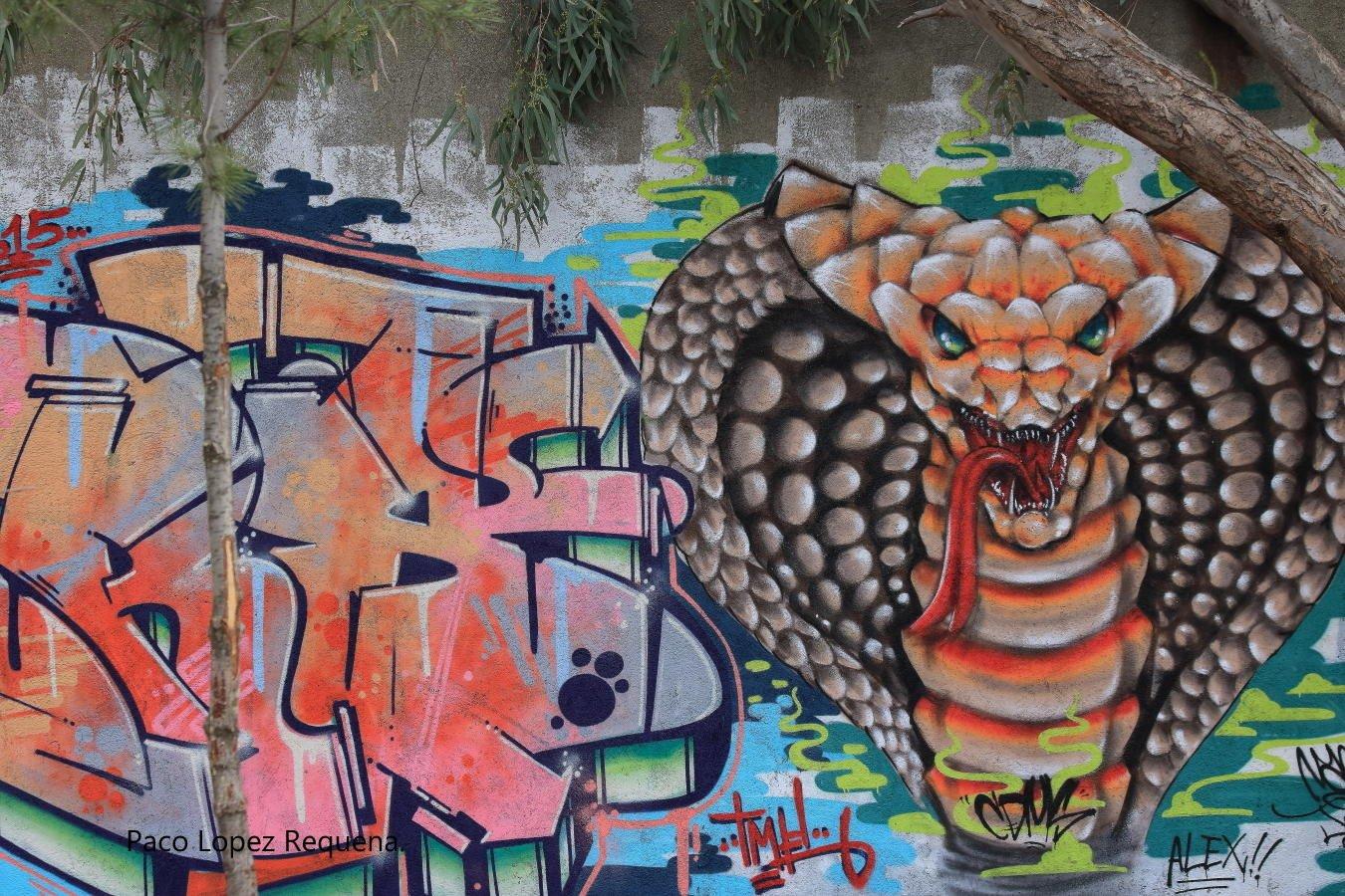 Graffitis en Madrid (Paco lopez Requena)