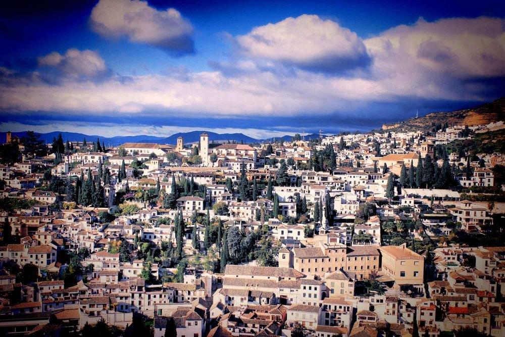 Granada desde La Alhambra (Argiñe Alonso Careaga)