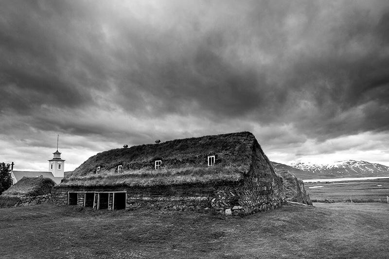 Granja de turba. Islandia 82. (david Pérez Hens)