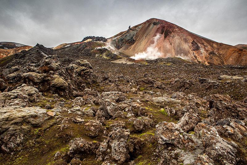 Hacia las montañas de color. Islandia 75 (david Pérez Hens)