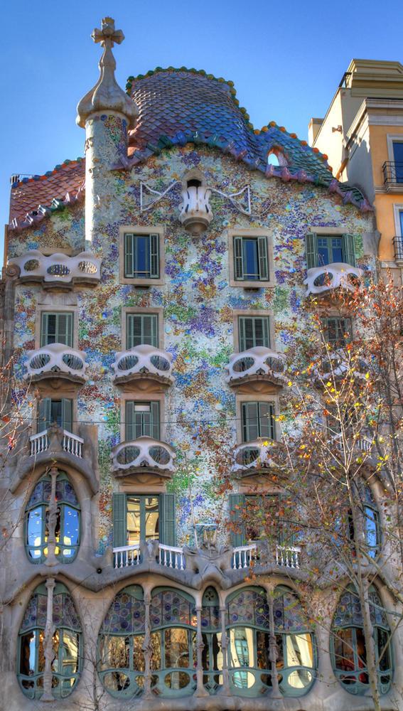 HDRI de la Casa Batlló