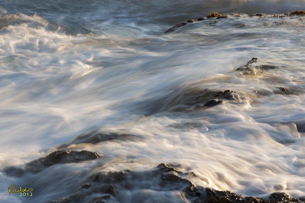 Humo de agua al atardecer (Jose Luis Rubio Perez)