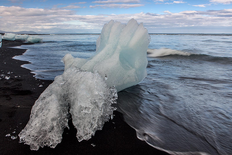 Iceberg en el mar, Islandia 136 (david Pérez Hens)