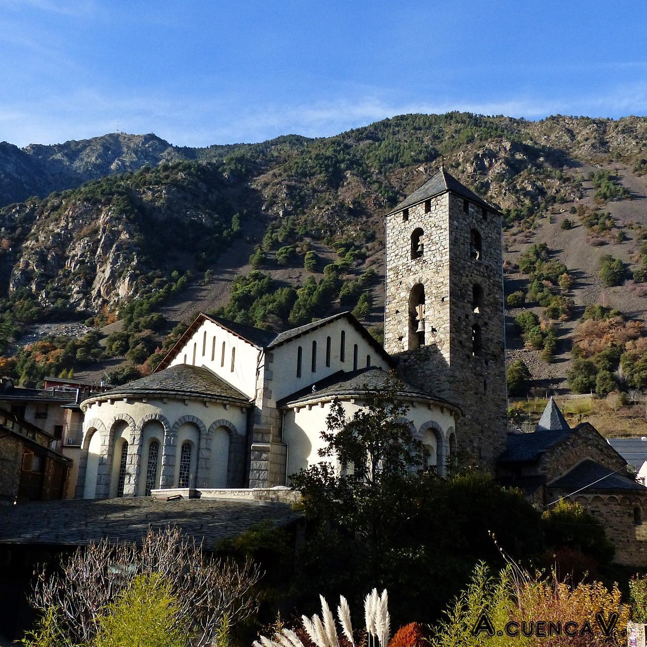 Iglesia de St. Esteve, Andorra. (Antonio Cuenca.   vaya)