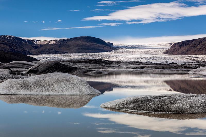Junto al Glaciar. Islandia 133 (david Pérez Hens)