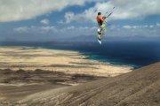 Kite de montaña.