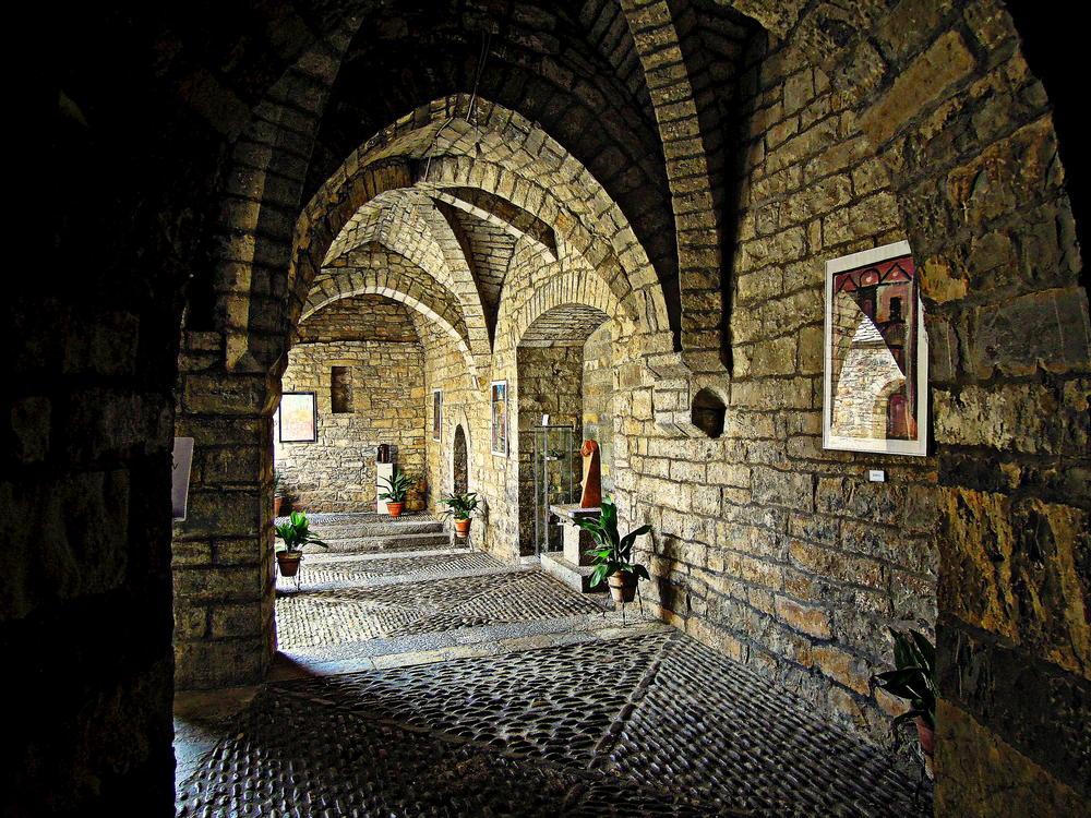 L'Ainsa (Claustro de la iglésia de Santa María) (Pedro Emilio Romero Martínez)