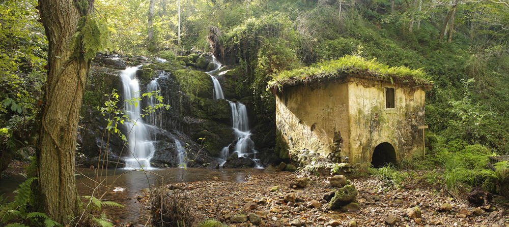 La cascada del Molino. (Jesús Portal)