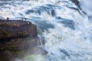 La fuerza de Gullfoss, Islandia