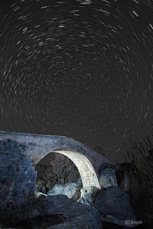 La polar sobre el puente (José Arcos Aguilar)