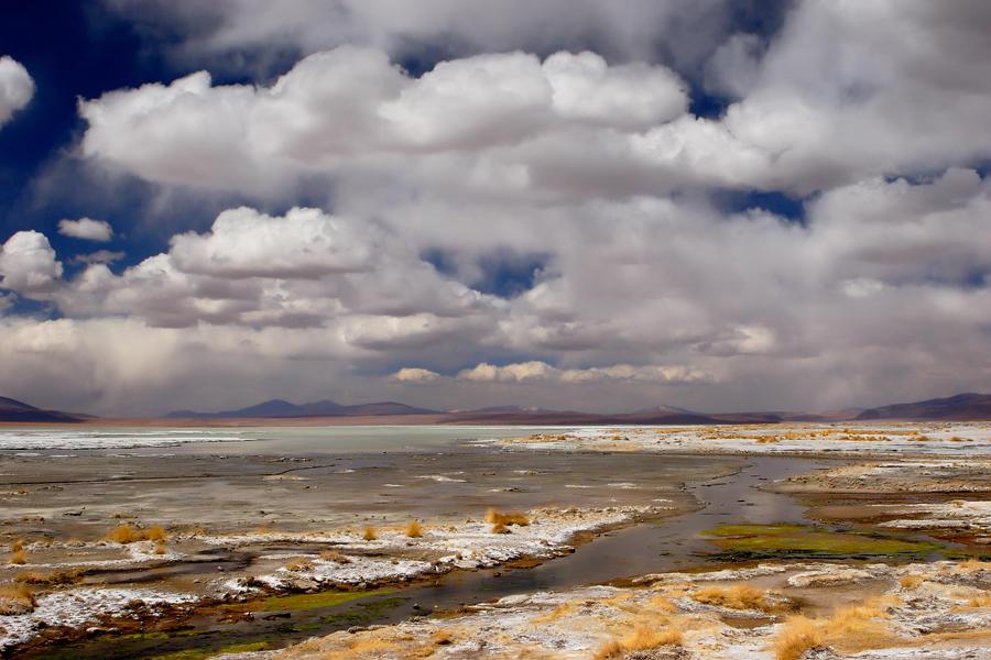 Laguna salada.Altiplano Boliviano (david Pérez Hens)